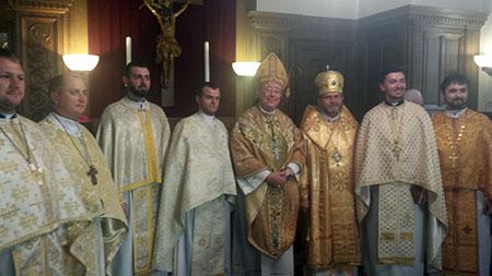 Teilnahme der Delegation der Diözese Butschatsch an den Feierlichkeiten in Erzbistum Luxembourg